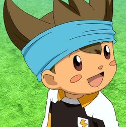 Shinsuke in Ina GO Galaxy
