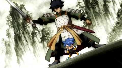 Inazuma Eleven GO Chrono Stone (Ouja no Kiba VS Taikoku Ouka) HD