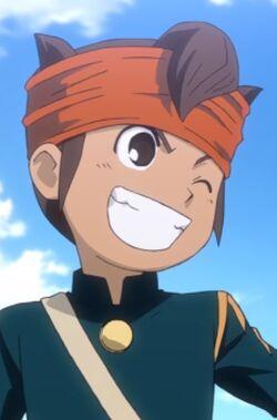 Endou in Raimon Uniform