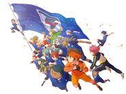 Inazuma Japan Ares Members