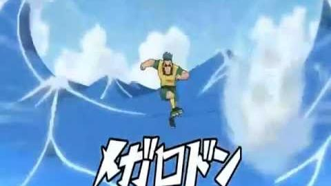 Inazuma Eleven (Super Onze) Megalodon