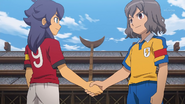 Shindou and Kishibe shaking hands GO 31 HQ