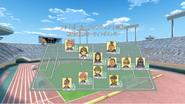 Sengoku Igajima's formation (Anime)