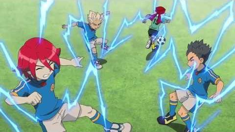 Inazuma Eleven(イナズマイレブン)Heat Tackle改 Zig Zag Spark V2 Dual Strike V2
