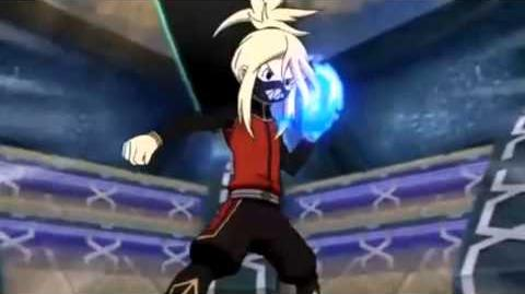 Inazuma Eleven GO Chrono Stone Heavy Aqua Lance Vs Shin God Hand X