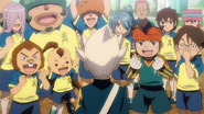Gouenji flashback old Raimon InaGO44 HQ