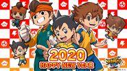 Inazuma Eleven SD - Happy New Year 2020
