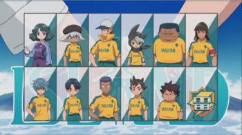 inazuma eleven characters names and pictures