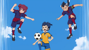 Tsurugi against two SEEDs GO 13