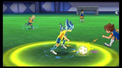 Inazuma Eleven GO Strikers 2013 Fei Mixi Trans Big + Ouja no Kiba