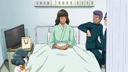 Michinari in the hospital