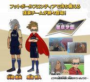 Haizaki Kidou Concept Art