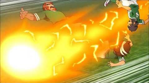 Inazuma Eleven GO Galaxy God Wind vs Dry Blow