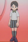 Kino Aki School Uniform Front