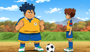 Sakamoto In Raimon Uniform CS 28 HQ