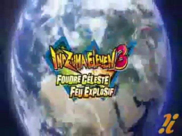 Inazuma Eleven 3 Foudre Céleste Feu Explosif Trailer FR!