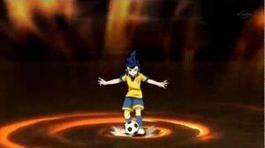 Inazuma Eleven Go Chrono Stone Devil Burst VS Sand Cutter