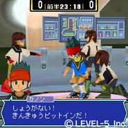 Kanon and pit crew