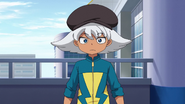 Hiyori in his Raimon jacket