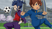 Tenma can't steal the ball GO 1