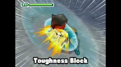 Toughness Block Toughness Block ( タフネスブロック ) Mega Parata di Forza