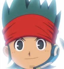 Canon Evans,le petit-fils de Mark(oui il vient du futur et bla,bla pour plus d'informations voir Inazuma Eleven GO Chrono Stone)