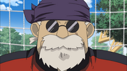 Hibiki in Inazuma Eleven uniform