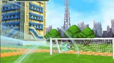 Rolling Kick Inazuma Eleven DS Special move Hissatsu