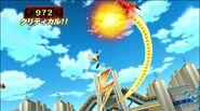 Gouenji using Dragon Tornado Inazuma Online