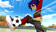 Okita in his Zanark Domain uniform CS 27