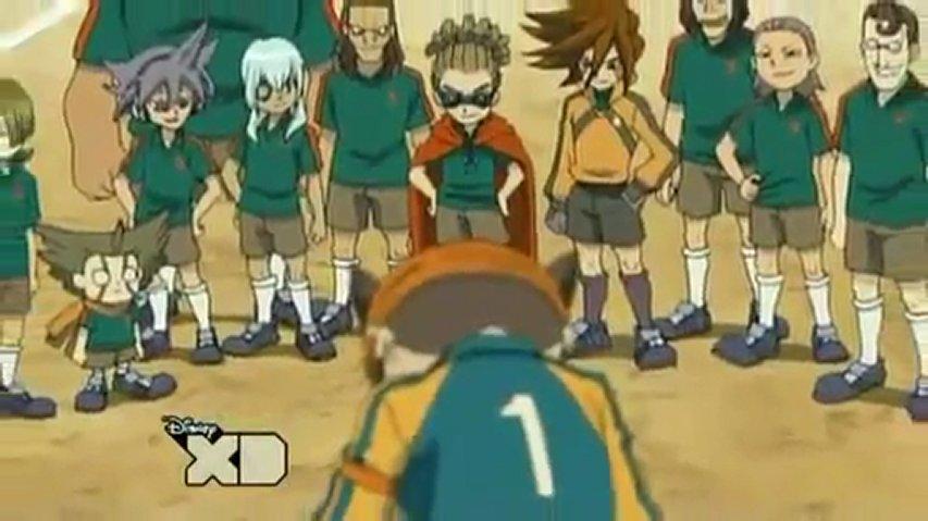 Inazuma eleven épisode 1 jouons au football!