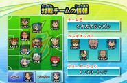 Inazuma Japan formation IES 2013
