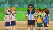 Endou and the others from FFI