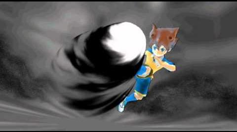 Inazuma Eleven Strikers 2012 Xtreme Black Ash Tenma