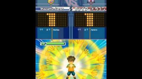 Inazuma Eleven Mains de l'Infini - Jeu