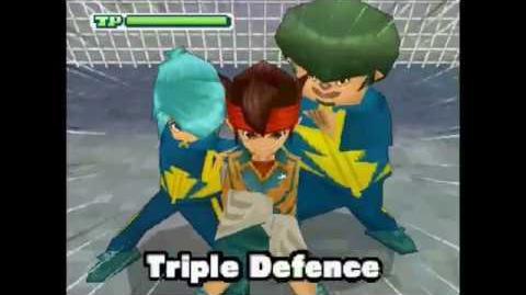 Triple Defence Triple Defense ( トリプルディフェンス ) Difesa Tripla
