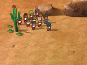 Desert lion game