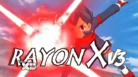 Inazuma Eleven Rayon X V3 VS Arrêt Céleste G3!!