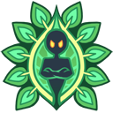 Green Leaves Emblem