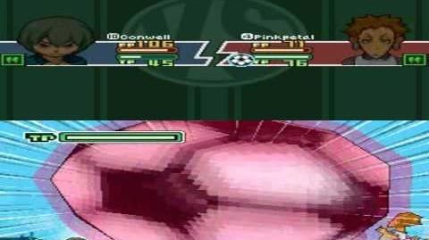 Inazuma Eleven 2 Firestorm Pinkpetal - Bubble Gum
