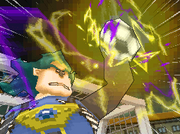 Galileo stopping Inazuma Break with one hand Game