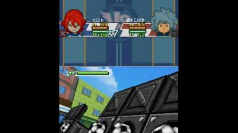 Inazuma Eleven 3 Spark Assault Shot