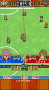 Match scene in Inazuma Dash