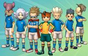 Inazuma Japan Wii