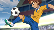 Tenma getting the ball GO 9