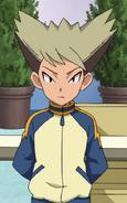 Kosaka in his Raimon jacket