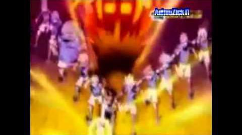 Inazuma Eleven GO vs Danball Senki W - Great The Hand グレイト・ザ・ハンド