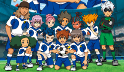 Shinsei inazuma japan galaxy team