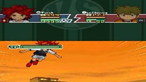 Inazuma Eleven 2 Firestorm Torch - Hawk Shot