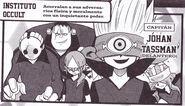 Masque dans le manga